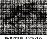 abstract halftone pattern... | Shutterstock .eps vector #577410580