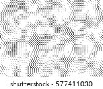 abstract halftone pattern... | Shutterstock .eps vector #577411030