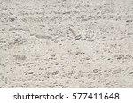 travertine stone wall...   Shutterstock . vector #577411648