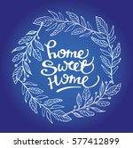 hand lettering typography... | Shutterstock .eps vector #577412899
