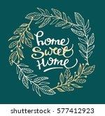 hand lettering typography... | Shutterstock .eps vector #577412923