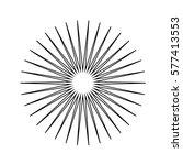 sun icon   Shutterstock .eps vector #577413553