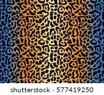 leopard pattern  vector ... | Shutterstock .eps vector #577419250