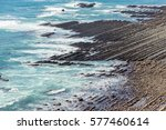 nichinan coastline from phoenix ... | Shutterstock . vector #577460614