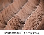 chocolate ice cream close up... | Shutterstock . vector #577491919
