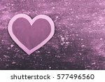 Purple Heart On Purple ...
