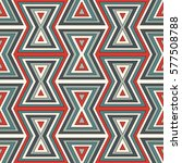seamless pattern with repeated... | Shutterstock .eps vector #577508788
