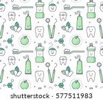 vector educational seamless... | Shutterstock .eps vector #577511983