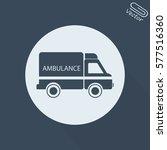 vector illustration ambulance... | Shutterstock .eps vector #577516360