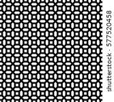 repeated white figures on black ... | Shutterstock .eps vector #577520458