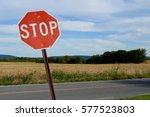 Stop Sign  Landscape