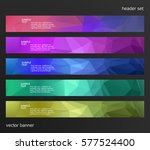 set design elements business... | Shutterstock .eps vector #577524400