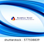 abstract blue background  | Shutterstock .eps vector #577538839
