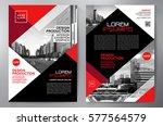 business brochure. flyer design.... | Shutterstock .eps vector #577564579