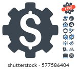 development cost pictograph... | Shutterstock .eps vector #577586404