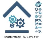 workshop icon with bonus setup... | Shutterstock .eps vector #577591549