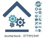 workshop icon with bonus setup... | Shutterstock .eps vector #577591549