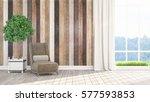 modern bright interior . 3d...   Shutterstock . vector #577593853