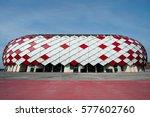 russia  moscow  october 29 ... | Shutterstock . vector #577602760
