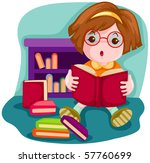illustration of  cartoon cute... | Shutterstock . vector #57760699