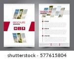 flyer design. business brochure ... | Shutterstock .eps vector #577615804
