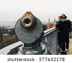 Coin Operated Binoculars On Th...