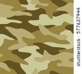 camouflage pattern background... | Shutterstock .eps vector #577637944