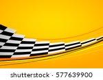yellow racing background  sport ... | Shutterstock .eps vector #577639900