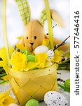 easter decoration. | Shutterstock . vector #577646416
