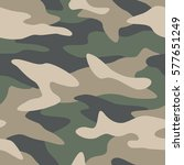 camouflage pattern background... | Shutterstock .eps vector #577651249