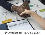 contact us help business... | Shutterstock . vector #577661164