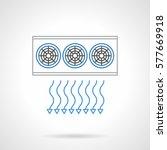 air ventilation system...   Shutterstock .eps vector #577669918