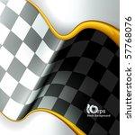 Checkered Background  Eps10