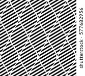 seamless vector abstract... | Shutterstock .eps vector #577682956