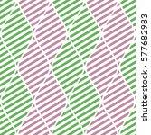 seamless vector abstract... | Shutterstock .eps vector #577682983