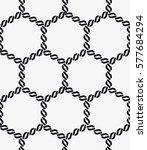 vector seamless pattern. modern ... | Shutterstock .eps vector #577684294