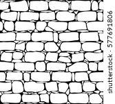 brick wall seamless pattern....   Shutterstock .eps vector #577691806