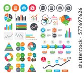business charts. growth graph....   Shutterstock .eps vector #577697626