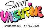 sweet valentine design  ...   Shutterstock .eps vector #577698526