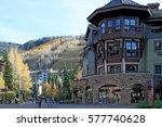vail  colorado   circa october... | Shutterstock . vector #577740628
