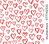 vector fashion seamless pattern ... | Shutterstock .eps vector #577742533