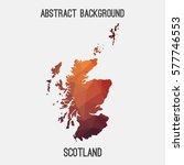 scotland in geometric polygonal ...   Shutterstock .eps vector #577746553