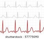 signals on screen | Shutterstock .eps vector #57775090