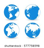 illustration of a world globe... | Shutterstock .eps vector #577758598