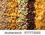 Variety of cold cereals  quick...