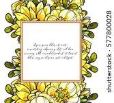 vintage delicate invitation... | Shutterstock .eps vector #577800028
