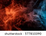 abstract smoke weipa. personal... | Shutterstock . vector #577810390