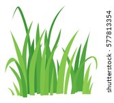 grass icon. cartoon...