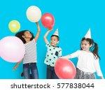 little children party balloon...