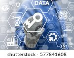 internet of things key industry ... | Shutterstock . vector #577841608